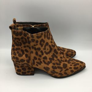 A New Day 9 Women's Valerie Microsuede Leopard